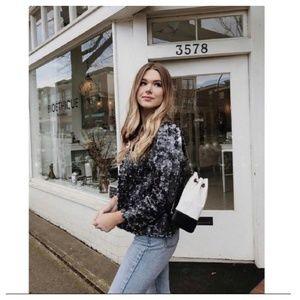 Zara tweed jacket (2761)